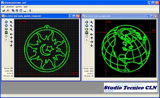 dxf and visualizzatore and